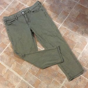 American Eagle cropped jeggings size women's 12